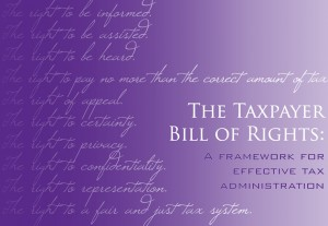 tax payers bill of rights