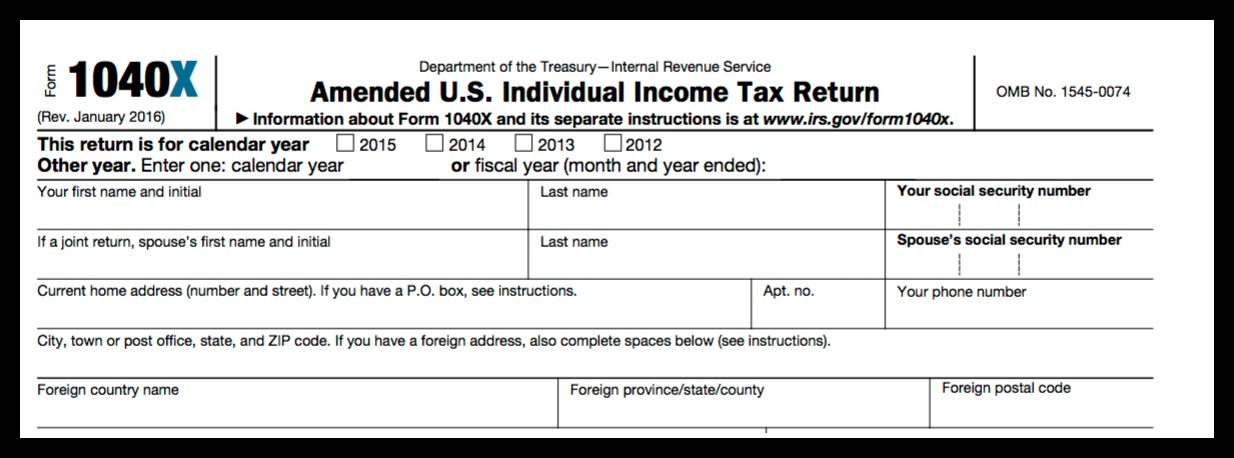 10 Tips To Amend Your Tax Return