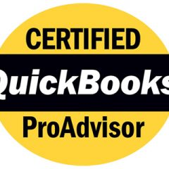 We are a Certified QuickBooks Advisor!